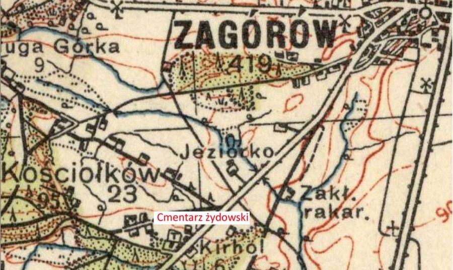 cmentarz żydowski -  Zagórów