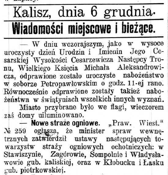 Gazeta Kaliska 1900 nr 278