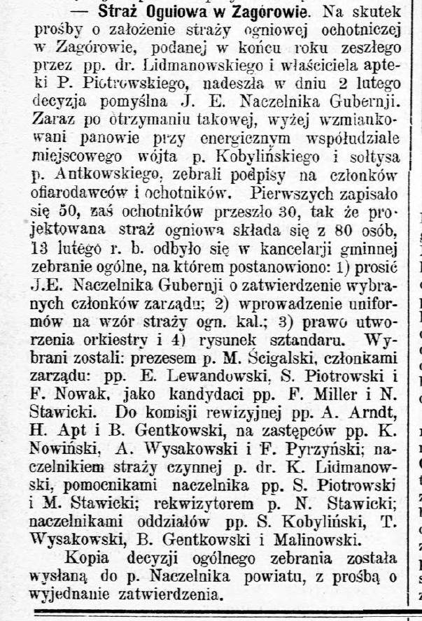 Gazeta Kaliska 1900 nr 51a
