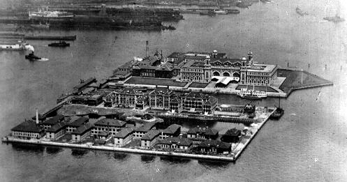 Ellis Island Immigration Station.