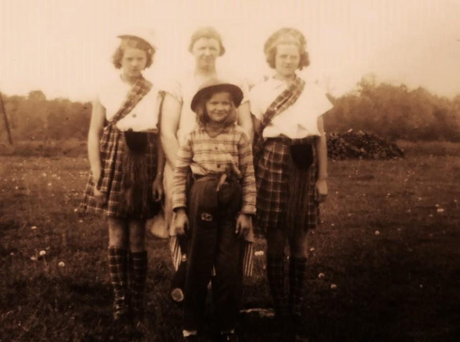 Marta Marcyan z dziećmi