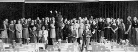 Koncert w Terezinie 1944 rok