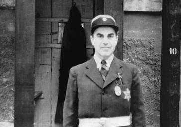 Policjant Żydowski z Terezina